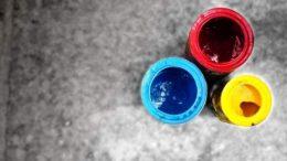 2 Renkli Renk Falı