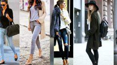 Skinny Jean (Dar Kot Pantolon) Nasıl Kombinlenir