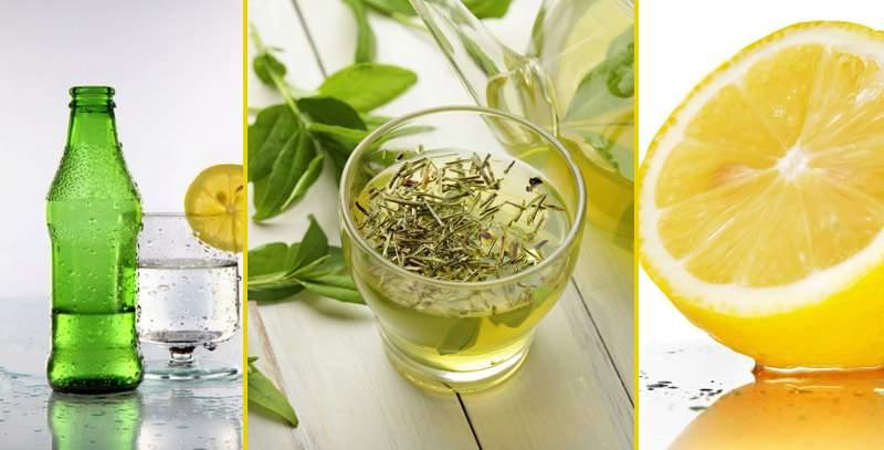 yeşil çay limon soda kürü ile ilgili görsel sonucu
