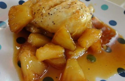 Ananaslı Tavuk Tarifi