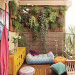 örnek Kapalı Balkon Dekorasyonu