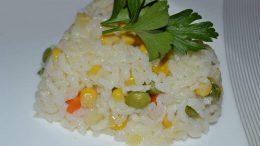 Garnitürlü Pirinç Pilavı