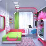 kız Genç Odası Dekorasyonu