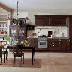 kahverengi Renkli Mutfak Dolapları