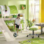 kaydıraklı Çocuk Odası Tasarımları