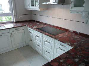 Kuchenarbeitsplatte aus granit
