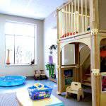oyun parklı Çocuk Odası Tasarımları