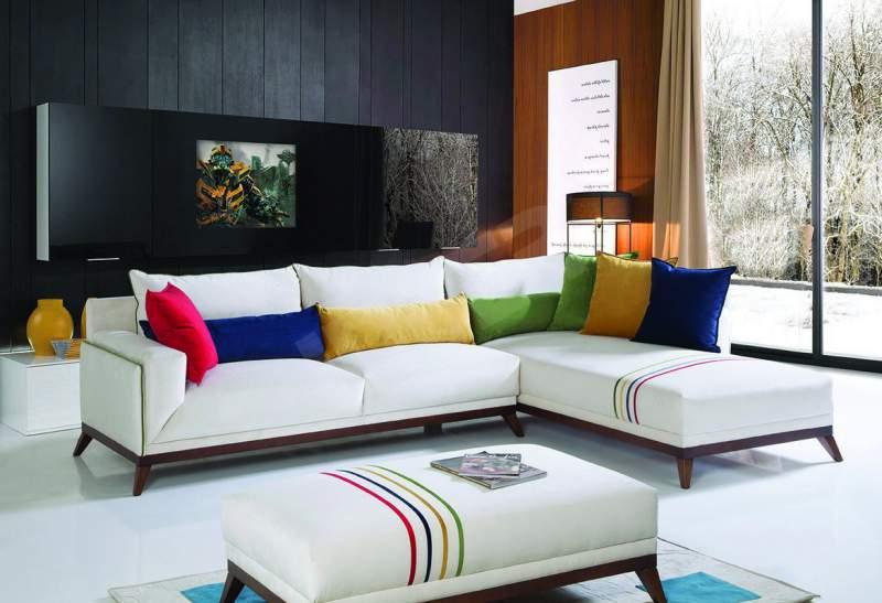 renkli Salon dekorasyonu önerileri