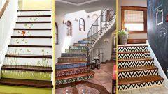 Dekoratif Merdiven Tasarımları Dekorasyonu