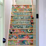 Renkli Merdiven Dekorasyonu