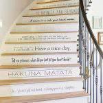 Tipografik Merdiven Dekorasyonu