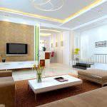 Ferah Oturma Odası Dekorasyonu