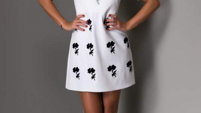 Desenli Elbise Modelleri
