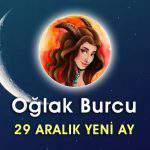 Oğlak Burcu 29 Aralık Yeni Ay Etkileri