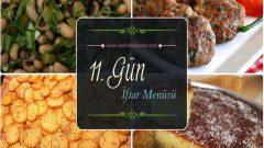 2017 Ramazan 11. Gün İftar Yemekleri