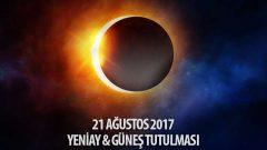21 Ağustos 2017 Güneş Tutulması ve Yeniay