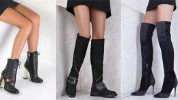 Bayan Deri Bot Ve Çizme Modelleri