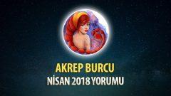Akrep Burcu Nisan 2018 Yorumu