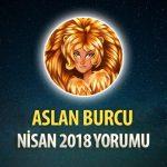 Aslan Burcu Nisan 2018 Yorumu