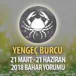 Yengeç Burcu 2018 İlkbahar Yorumu