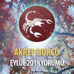 Akrep Burcu Eylül 2018 Yorumu