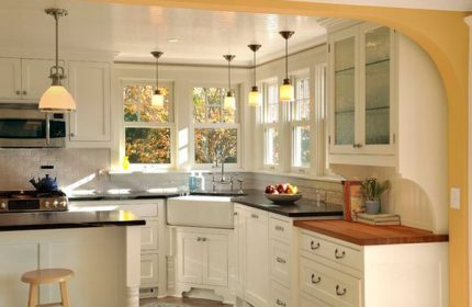 Mutfak Köşe Dekorasyonu Fikirleri