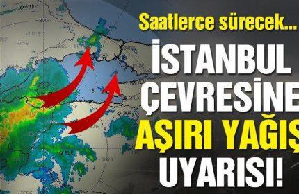 Meteoroloji'den İstanbul'a ve O İllere Son Dakika Taşkın Ve Sel Uyarısı !