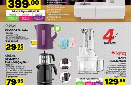 A101 8 Kasım Perşembe Kataloğu Yayında