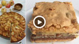 Bisküvili Elmalı Kek