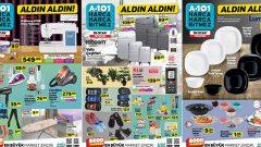 A101 10 Ocak 2019 Perşembe Kataloğu Yayında