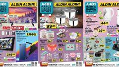 A101 3 Ocak Perşembe Kataloğu Yayında