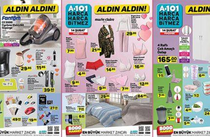 A101 14 Şubat Perşembe Kataloğu Yayında