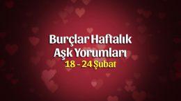 Burçlar Haftalık Aşk Yorumları 18 – 24 Şubat