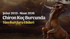 Chiron'un Muhteşem Dönüşü! Chiron 2026'ya Kadar Koç Burcunda