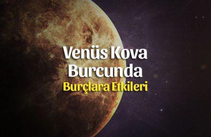 Venüs Kova Burcunda, Karanlıklar Aydınlanıyor