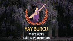 Yay Burcu Mart 2019 Yorumu