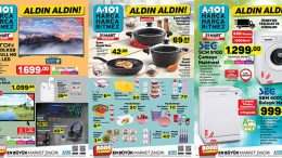 A101 21 Mart Perşembe Kataloğu Yayında