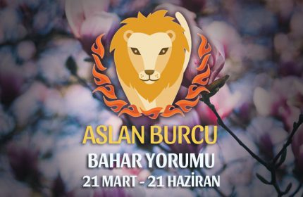 Aslan Burcu 2019 Bahar Yorumu