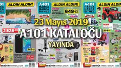 A101 23 Mayıs 2019 Kataloğu Yayında