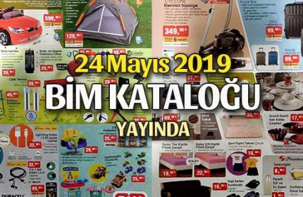 Bim 24 Mayıs Cuma Kataloğu Yayında