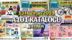 A101 13 Haziran Perşembe Kataloğu Yayında
