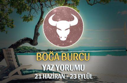 Boğa Burcu 2019 Yaz Yorumu