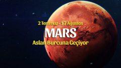Mars Aslan Burcunda Burçlara Etkileri 2 Temmuz 2019