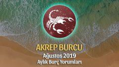 Akrep Burcu Ağustos 2019 Yorumu