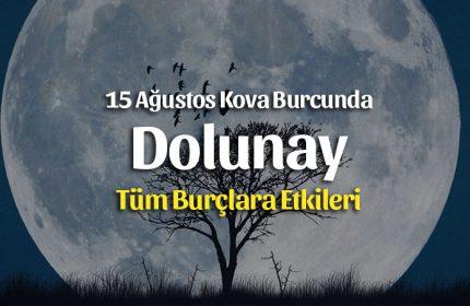Dolunay Kova Burcunda 15 Ağustos 2019