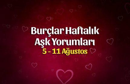 Burçlar 5 – 11 Ağustos Haftalık Aşk Yorumları