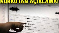 Deprem Sonrası Kandilli'den Korkutan Açıklama
