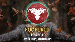 Koç Burcu Ekim 2019 Aylık Yorum