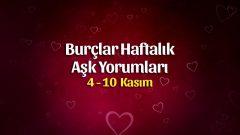 Burçlar Haftalık Aşk Yorumları 4 – 10 Kasım