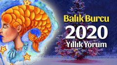 Balık Burcu 2020 Yıllık Yorumu